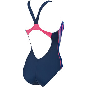 arena Prisma V Back L One Piece Swimsuit Damen navy-aphrodite